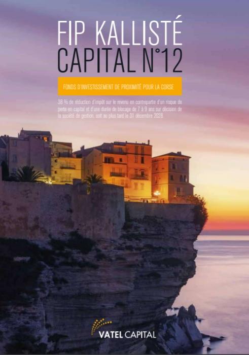 Fip Corse 38 % - FIP Kallisté Capital N°12